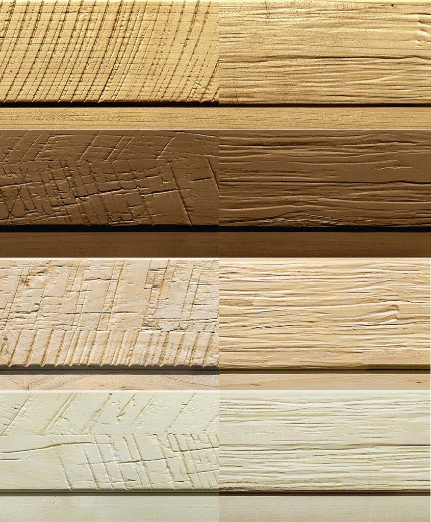 Raggy Wood Sauna варианты древесины